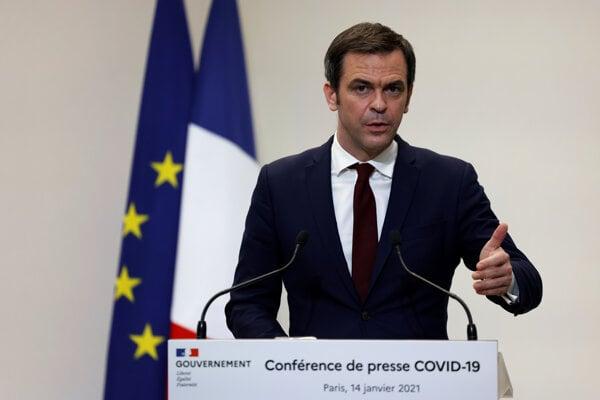 Francúzsky minister zdravotníctva Olivier Veran.