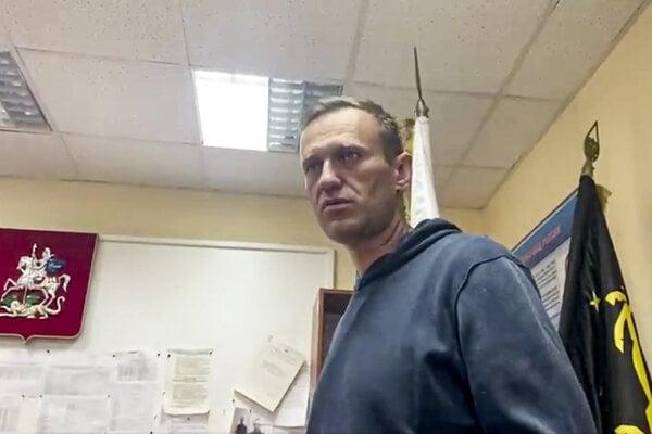 Ruský opozičný politik Alexej Navaľnyj.