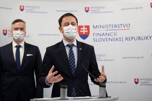 Minister financií Eduard Heger