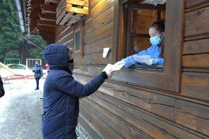 Testovanie v Čutkovskej doline.
