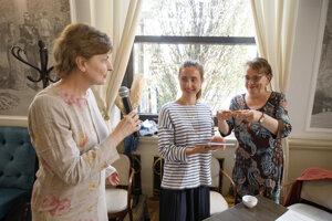 Eva Bolemant, Diana Mašlejová a Zuzana Godárová, zľava