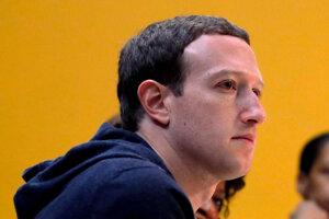 Šéf a zakladateľ Facebooku Mark Zuckerberg.