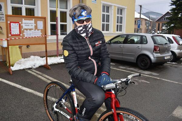Železný muž Marek Nemčík.