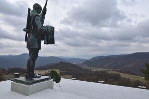 Pamätník SNP v Trnavej Hore.