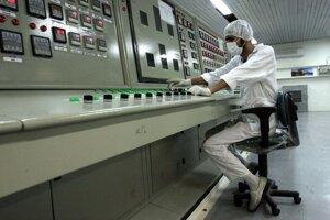 Terminál továrne na obohacovanie uránu v Teheráne.