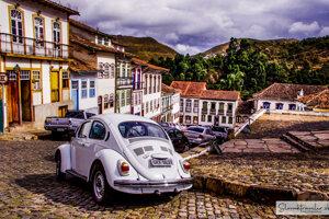 Brazílske mestečko Ouro Preto.