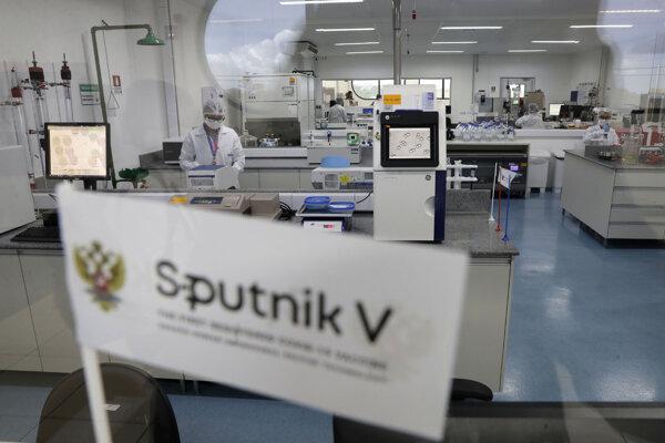 Ruskú vakcínu povolili už aj v Mexiku.
