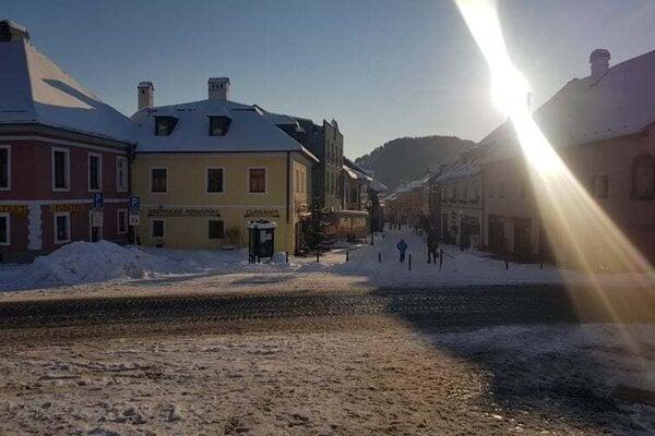 Mesto Kremnica.