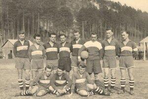 Zápas Trenčianske Teplice - Opatová z roku 1957