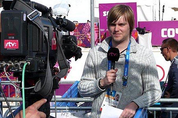 Nitran Matúš Mažec je po prvýkrát vo svojej televíznej kariére na olympijských hrách.