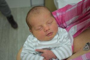 Rebeka Štepanovičová (3440 g, 50 cm) sa narodila 29. januára Michaele a Filipovi z Košece.