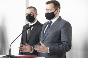 Generálny prokurátor SR Maroš Žilinka a novozvolený špeciálny prokurátor Daniel Lipšic.