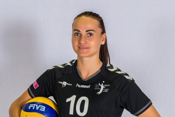 Odchovankyňa hrádockej volejbalovej školy Paula Kubová sa po materskej opäť vrátila pod sieť.
