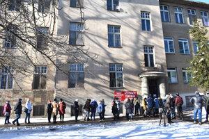 Vakcinácia pedagógov v sobotu v Košiciach.