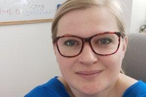 Tatiana Brnová, riaditeľka Občianskeho združenia Žena vtiesni.