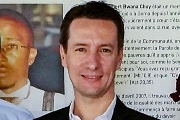 Taliansky veľvyslanec Luca Attanasio, obeť atentátu v Konžskej demokratickej republike.
