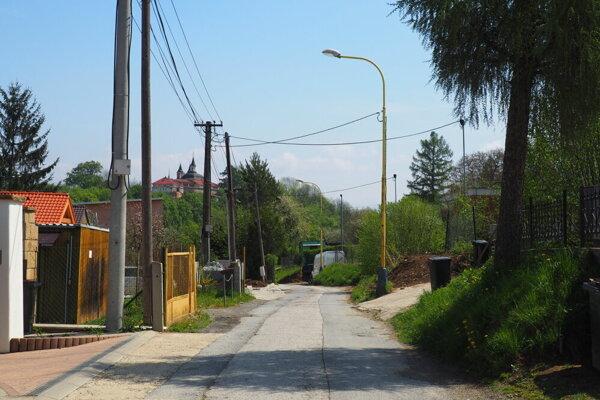 Terchovská ulica v Prešove.