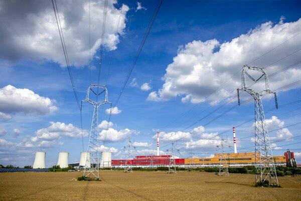Jadrová elekráreň v Mochovciach.