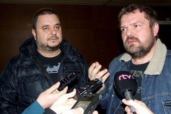 Mário Kuly Kollár a Michal Kožuch prišli na rokovanie mestského zastupiteľstva.