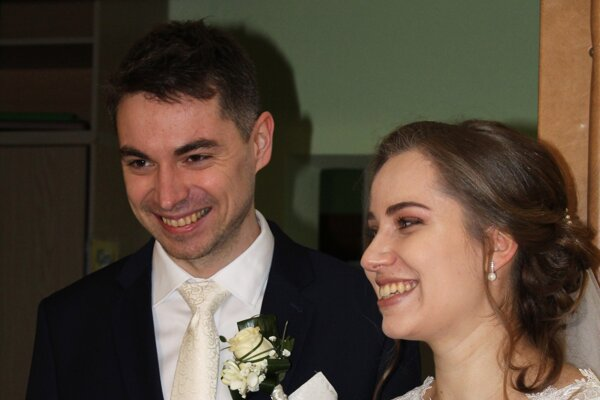 Zuzana Lamrichová zMartina si predstavovala väčšiu svadbu, no nakoniec si užila svoj veľký deň aj komorne.