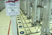Centrifúgy v podzemnom jadrovm zariadení Fordú.