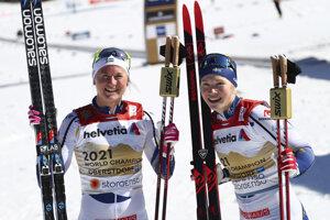 Maja Dahlqvistová a  Jonna Sundlingová