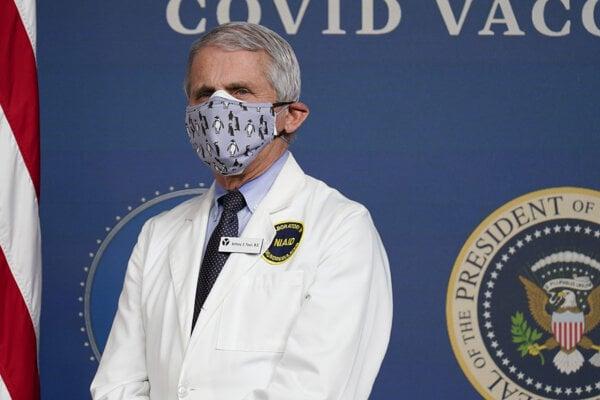 Americký imunológ Anthony Fauci.