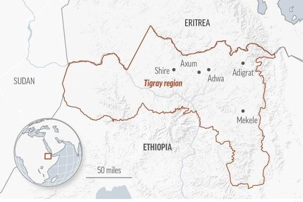 Dlhodobé napätie medzi Addis Abebou a Tigrajským ľudovým oslobodeneckým frontom (TPLF) vyvrcholilo vlani v septembri.