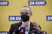 Poslanec Národnej rady Tomáš Valášek.