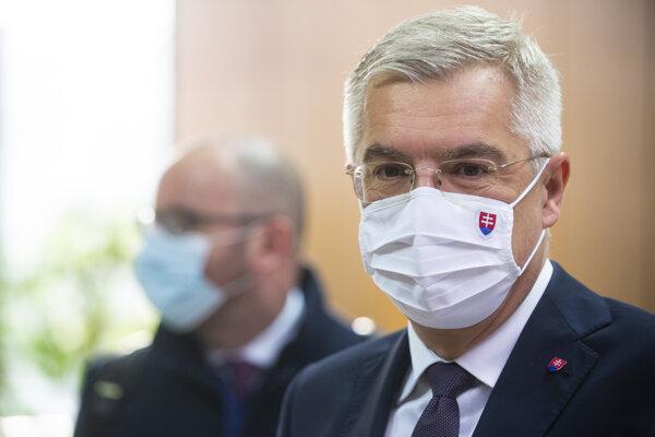 Minister zahraničných vecí Ivan Korčok (nom. SaS).