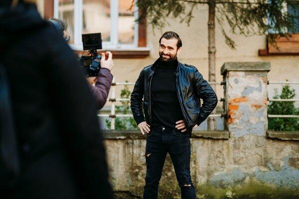 Herec Milan Ondrík.