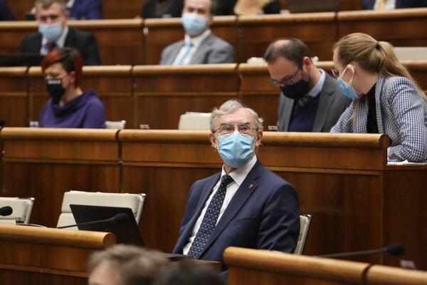 Poslanec parlamentu za stranu Za ľudí Ján Benčík.