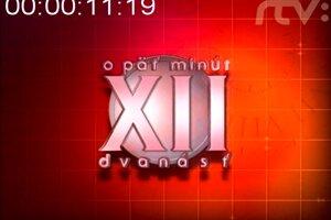 Vizuál relácie o Päť minút dvanásť v roku 2002.