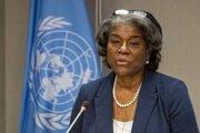 Linda Thomasová-Greenfieldová, veľvyslankyňa USA pri OSN.