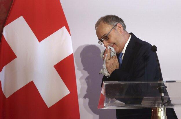 Guy Parmelin, prezident Švajčiarska.