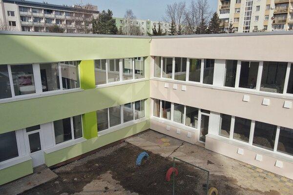 MŠ Bratislavská zrekonštruujú.