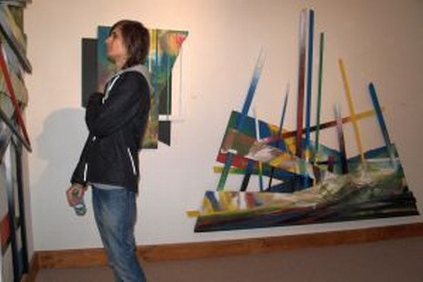 Výstava Emila Fulku v Salóne galérie potrvá do 1. decembra.
