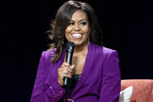 Bývalá prvá dáma USA Michelle Obamová.