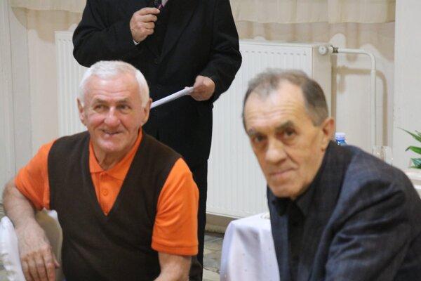 Zľava Ján Haspra a Anton Škorupa.