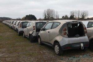 Chátrajúce elektromobily