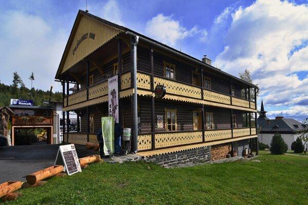 Švajčiarsky dom v Starom Smokovci.