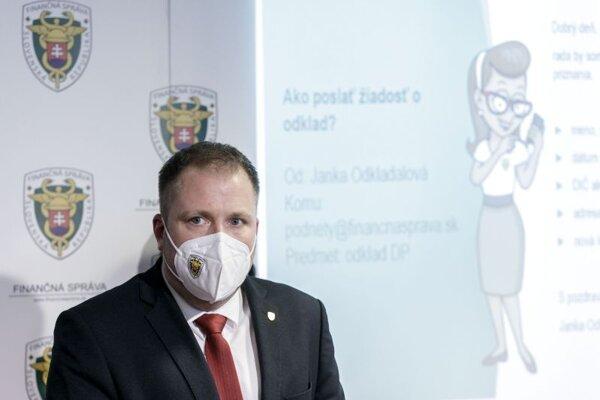 Jiří Žežulka, prezident Finančnej správy.