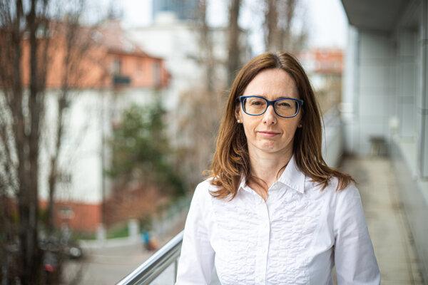 Šéfka Štátneho ústavu pre kontrolu liečiv Zuzana Baťová.