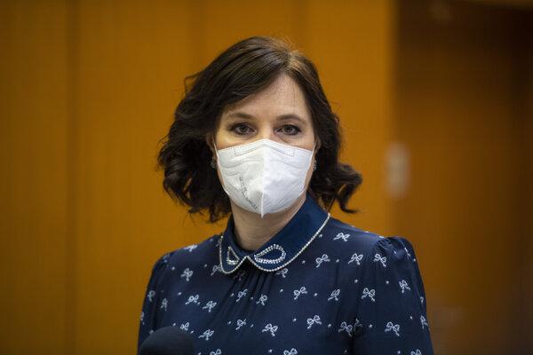 Vicepremiérka a ministerka investícií Veronika Remišová (Za ľudí).