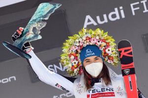 Petra Vlhová ovládla obrovský slalom.