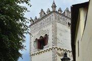 Renesančná zvonica v Kežmarku.