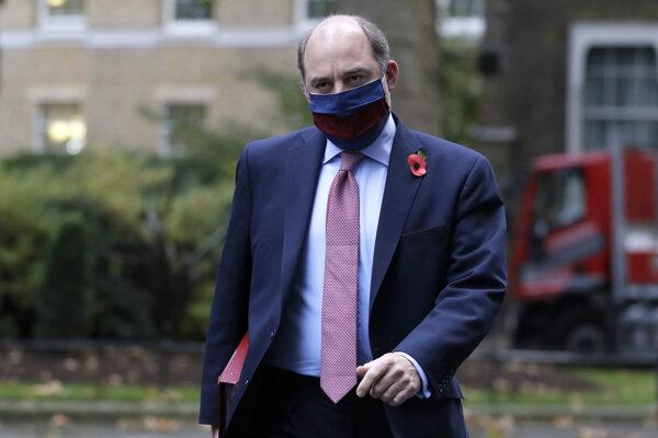 Britský minister obrany Ben Wallace.