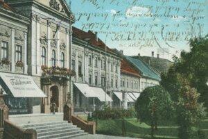 Takto vyzeralo centrum Košíc v minulosti.