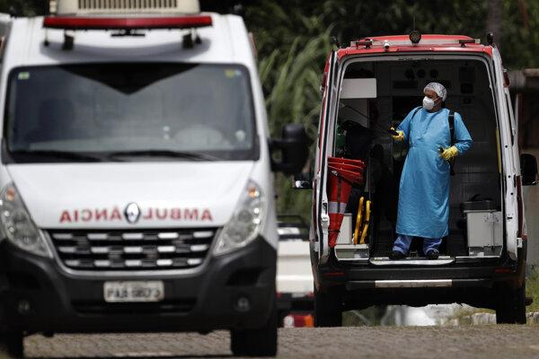 Situácia v Brazílii v súvislosti s koronavírusom je kritická.