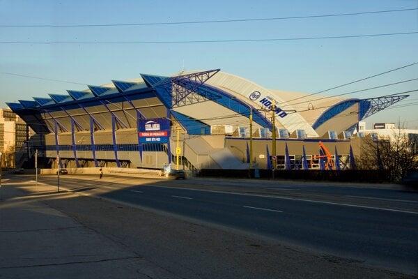 Steel Aréna v Košiciach.